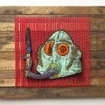 Poor Ol Dewey. Artwork by Josh Jackson from imPressed exhibition