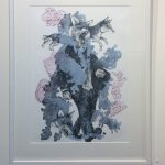 Bluster. Print by Patrick Vincent from imPressed exhibition.