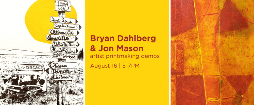 Dahlberg & Mason – Artist Demos – The Art Gym Denver