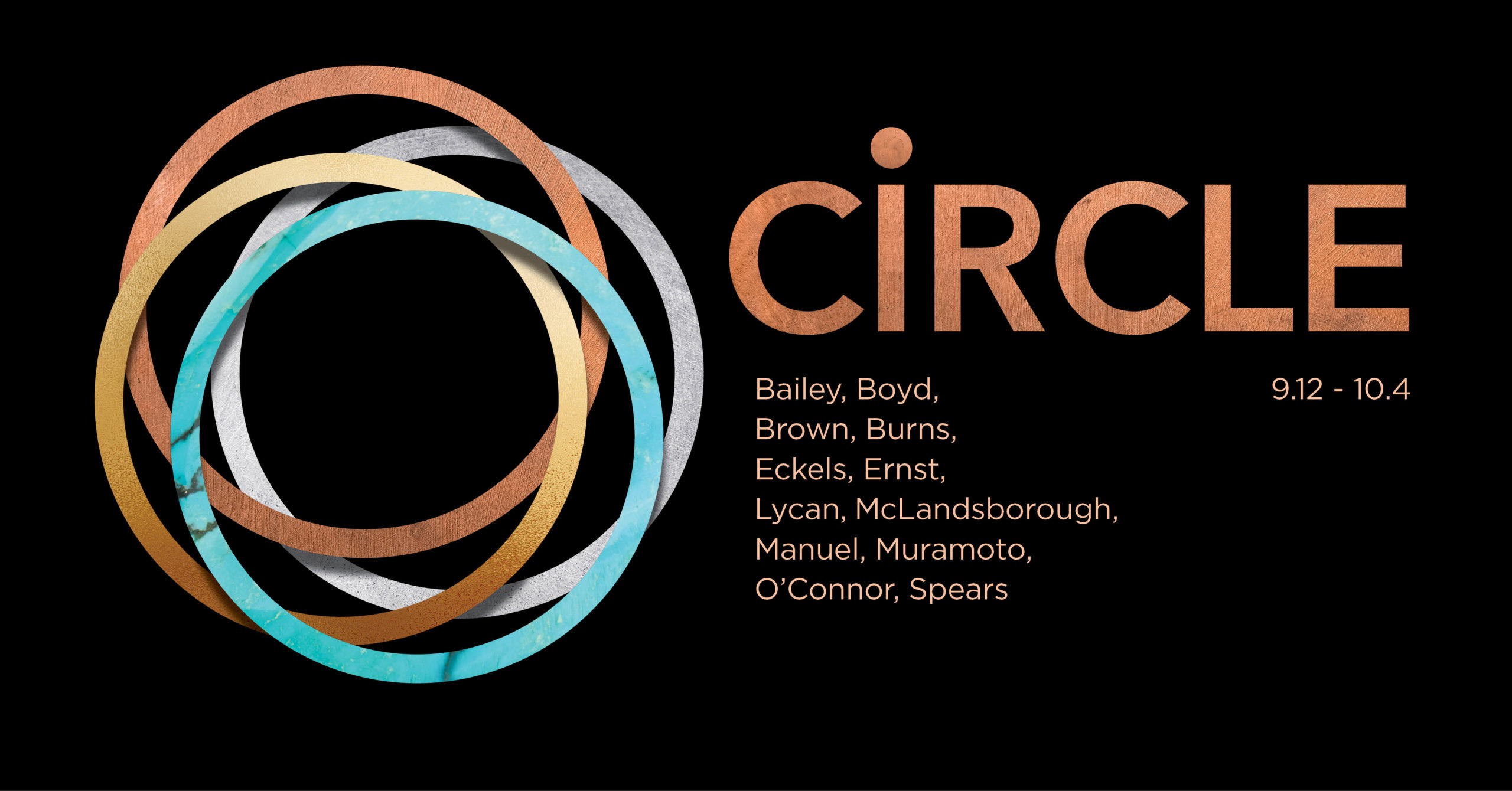 "Gallery graphic for ""Circle"" open 9.12 through 10.4"