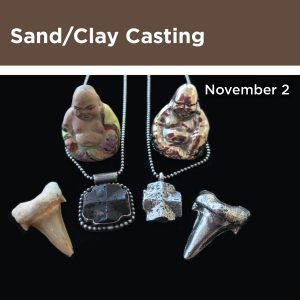 Sand/Clay Casting, November 2, image of sand cast objects