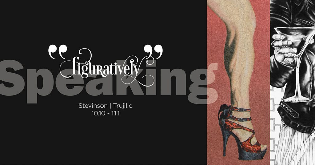 Gallery graphic for Figuratively Speaking, Stevinson and Trujillo