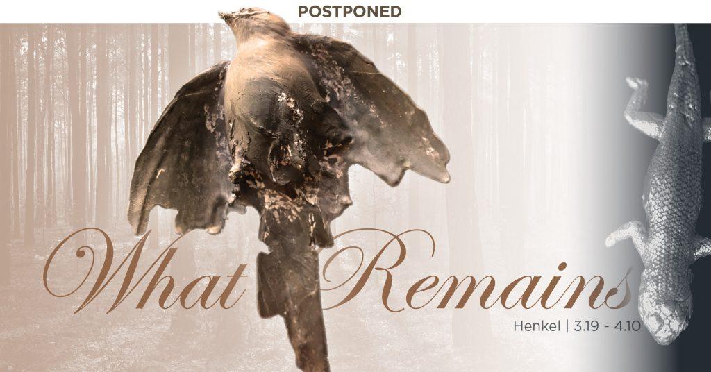 Postponed - What Remains by Kim Henkel