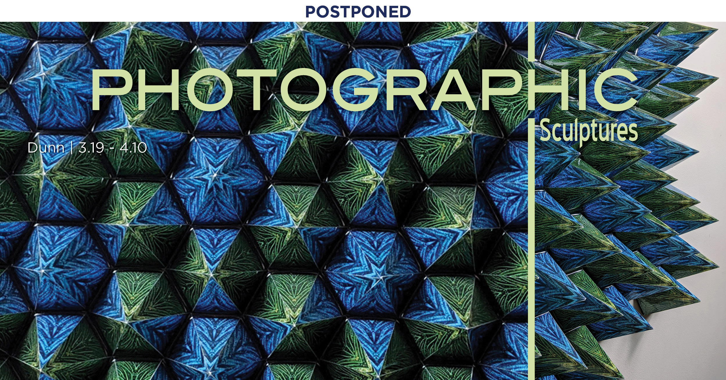 Postponed - Photographic Sculptures by Lauri R. Dunn