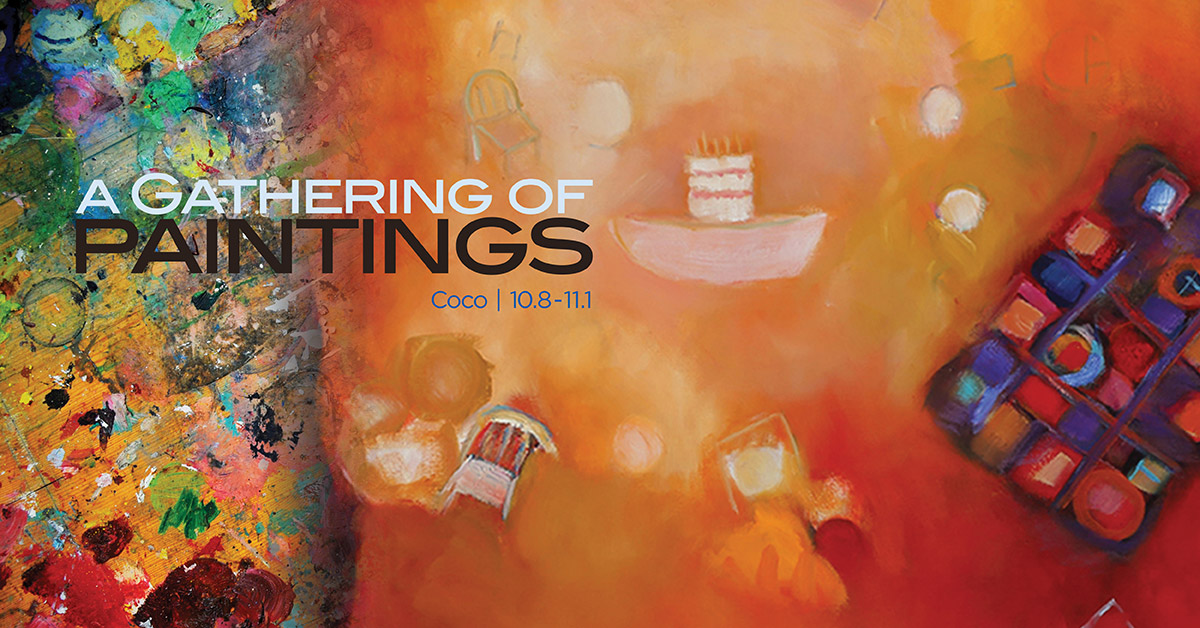 Joyce Coco, A Gathering of Paintings, 10.8-11.1