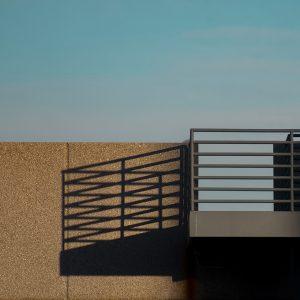 """Daniel Sarché, """"Balcony"""", Archival Inkjet Print, 15"""" x 10"""""""