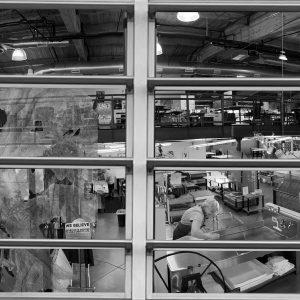 """John Ball, Still Life on Leyden, Digital Print, 58"""" x 14"""""""