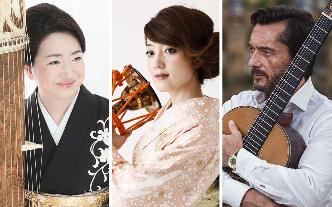 KIZUNA: Fuyuki Enokido con Kaho Aso y José María Gallardo