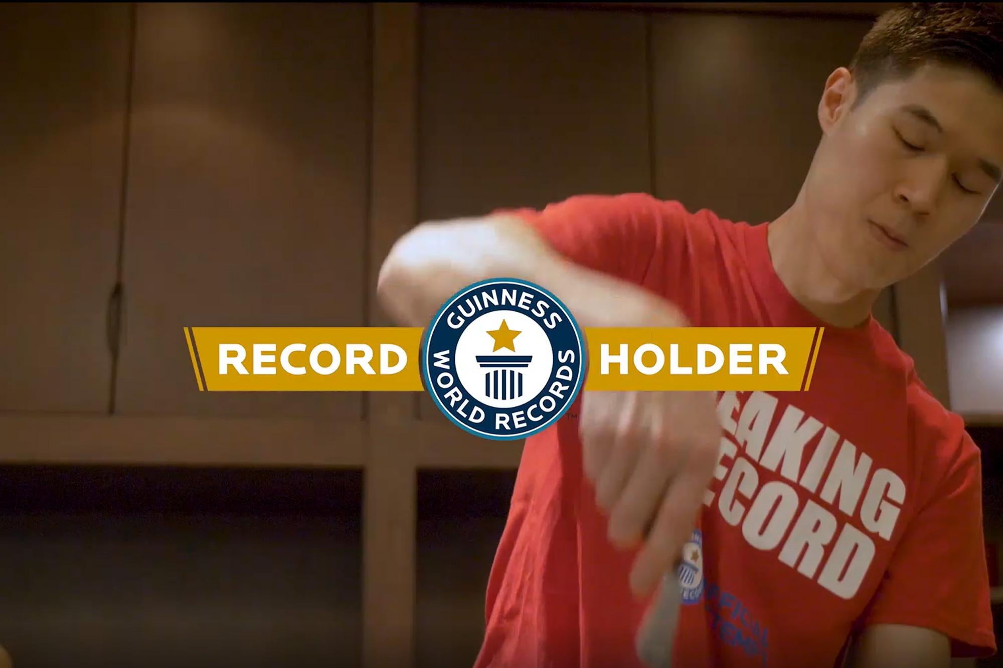Benihana Guinness Record Holder