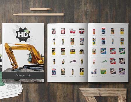 HD Engineering catalogue design