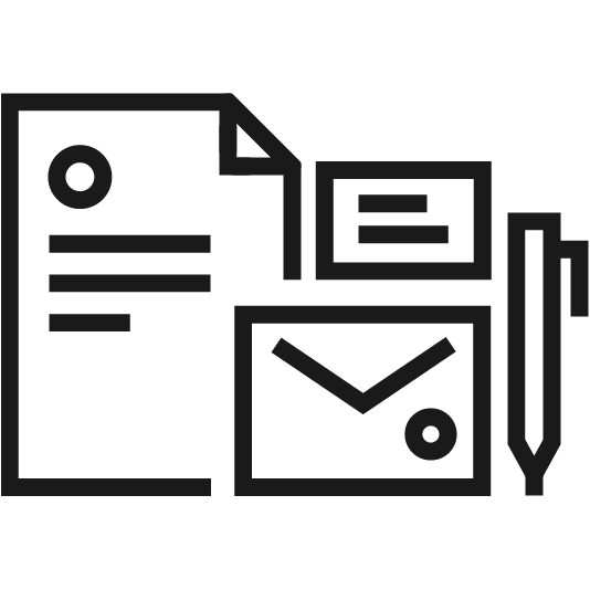 stationery services icon