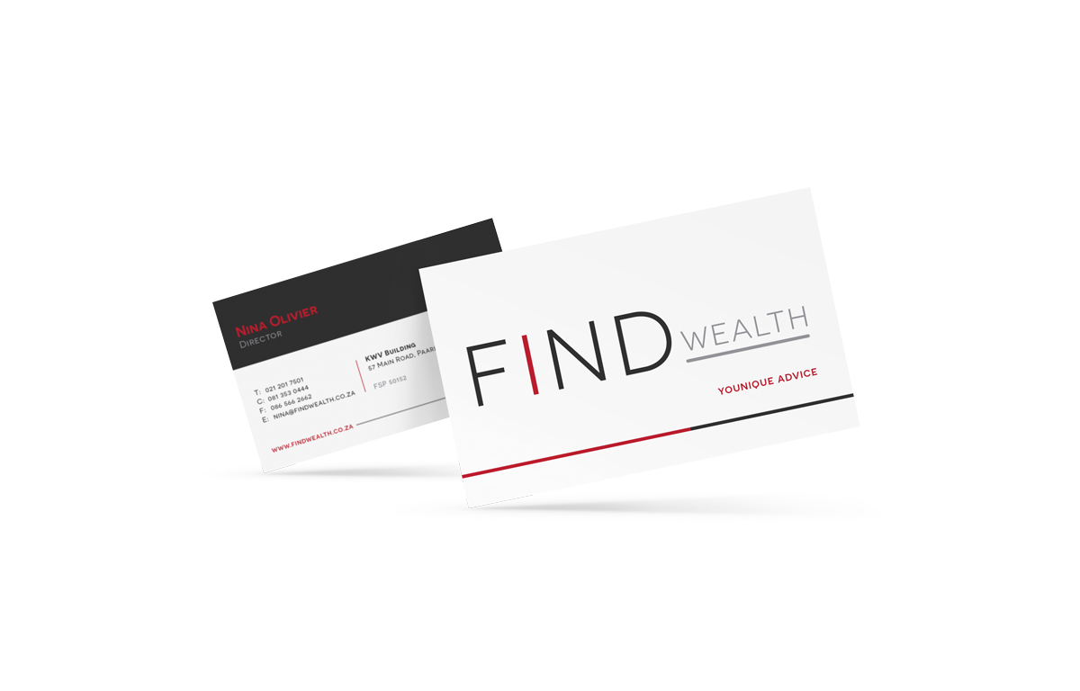FindWealth-BCard