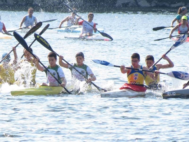 CANOAGEMCN Prado com várias medalhas conquistadas