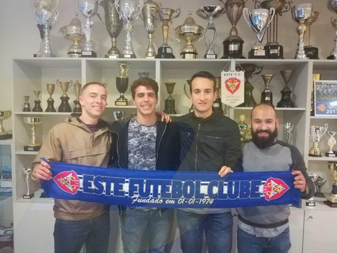 Este FC renova com mais quatro jogadores