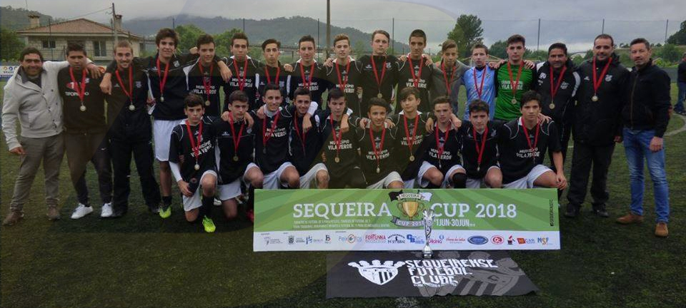 Sequeira CUP. Juvenis do GD Prado no lugar mais alto do pódio