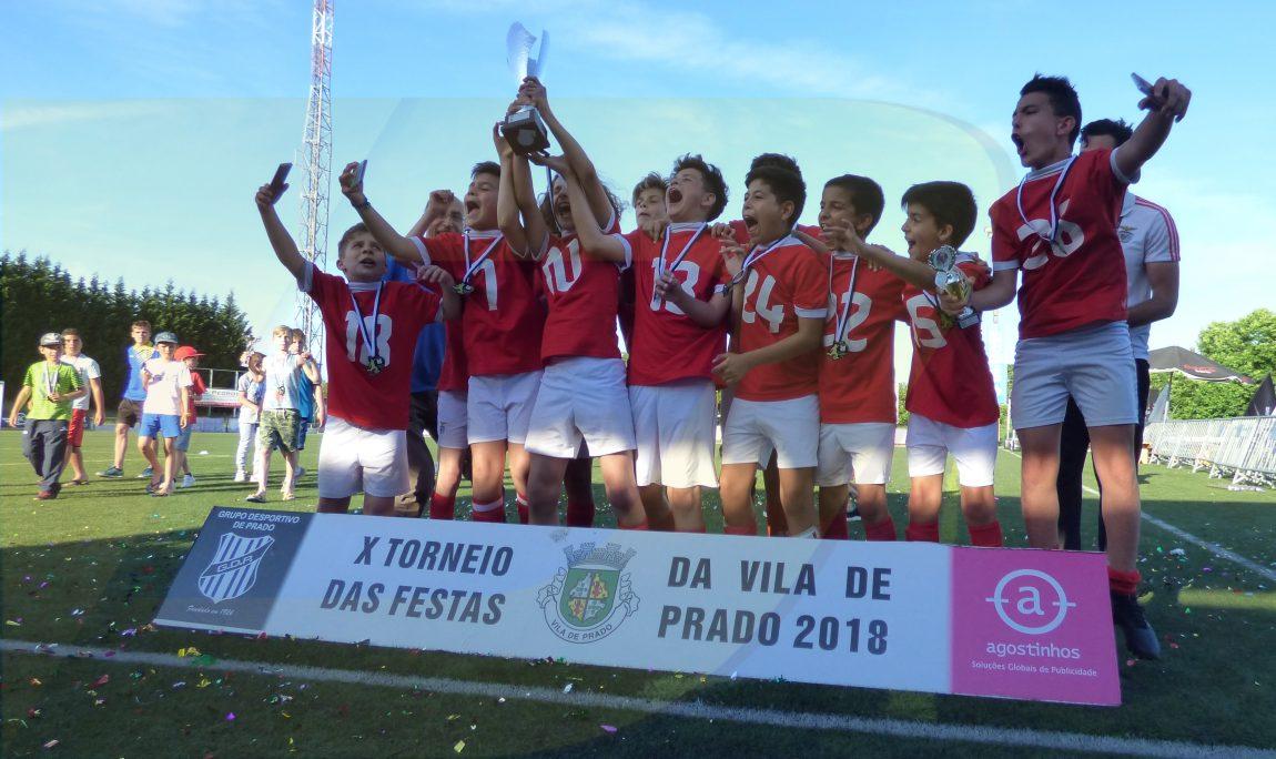 Benfica, Fafe e Taipas vencem torneio das festas da  Vila de Prado