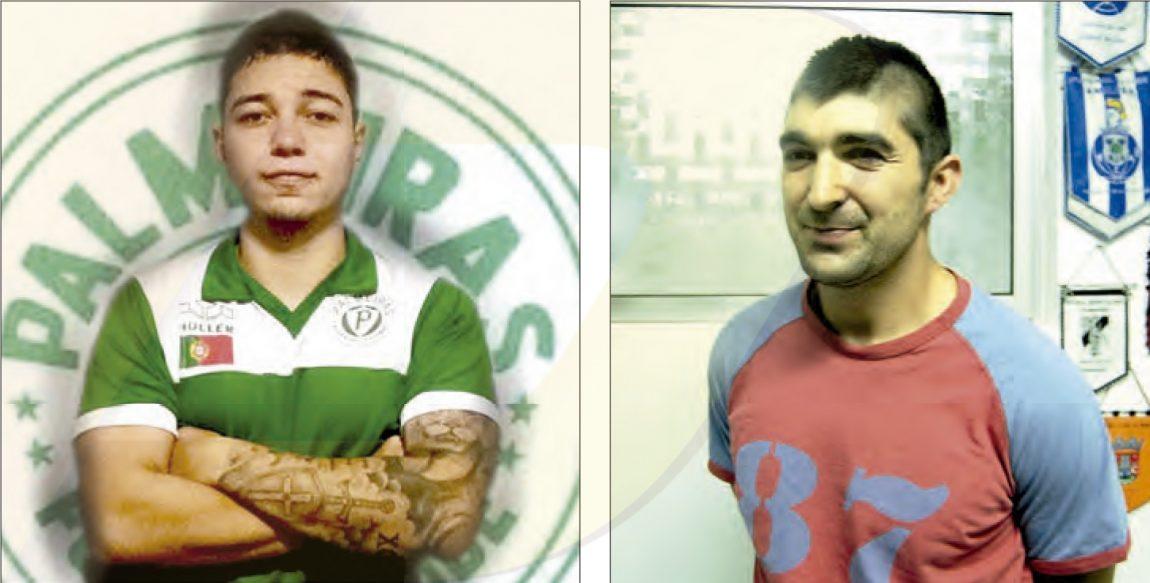 Talaia na baliza no Palmeiras