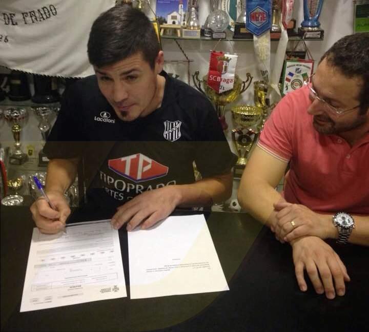 Bruno Silva renovou pelo GD Prado