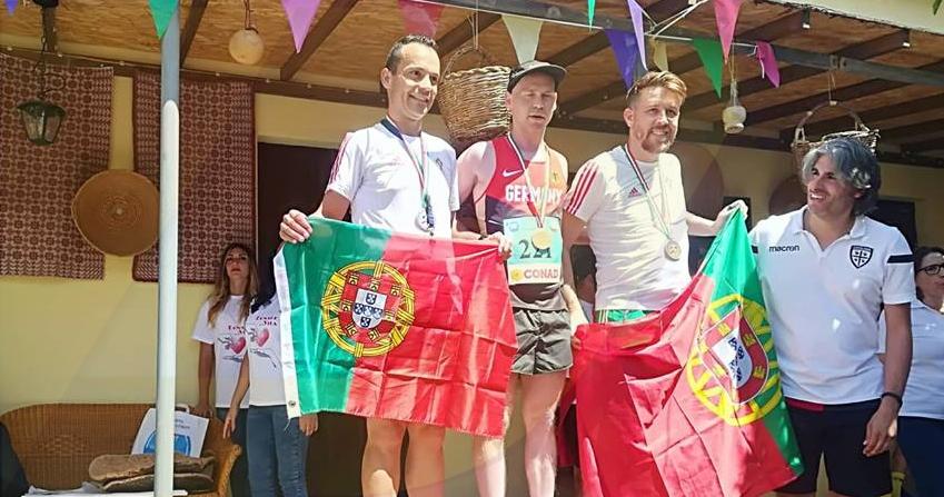 Ricardo Cunha vice-campeão europeu no Campeonato de Transplantados e Dialisados
