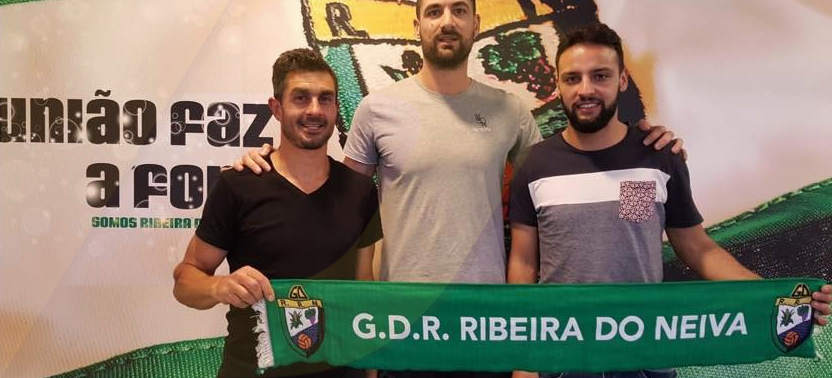 """Nabiça, Alexandre e João Pereira já """"moram"""" na Ribeira"""