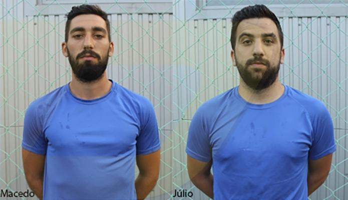 Júlio e Macedo no GD Caldelas