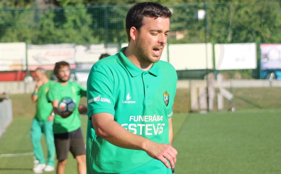 «Um dérbi de reencontros que queremos ganhar», diz Rui Silva, treinador do Ribeira do Neiva