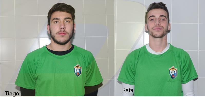 Tiago e Rafa às ordens de Rui Silva