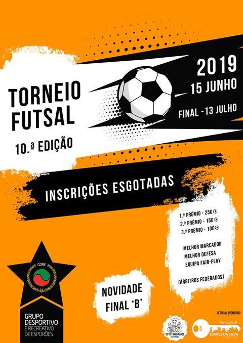 Futsal em Esporões