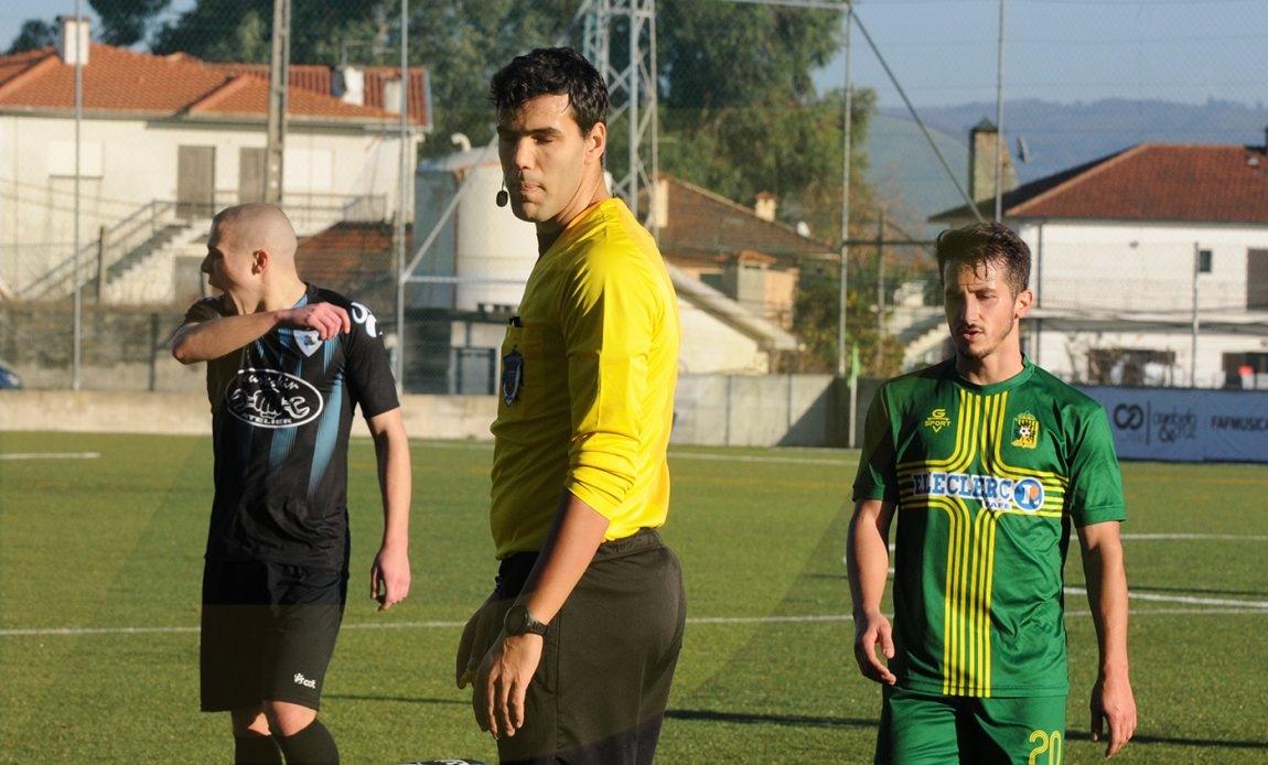 Vítor Barbosa foi o melhor árbitro da AF Braga