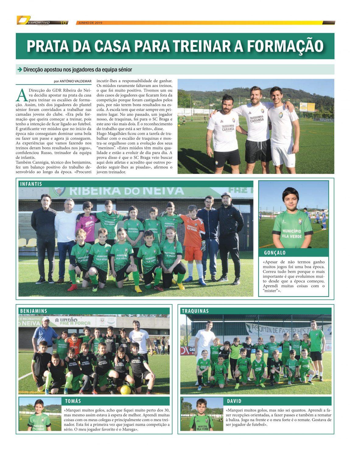 Futebol 7 do Ribeira em destaque