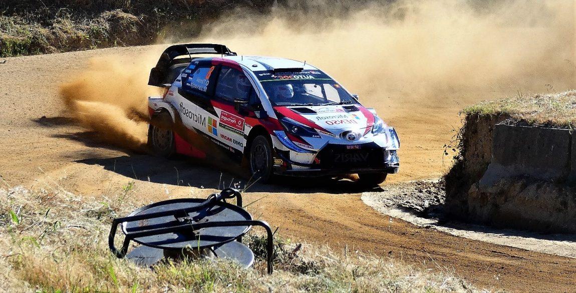 Toyota Yaris e Ott Tanak estreiam-se a vencer em Portugal