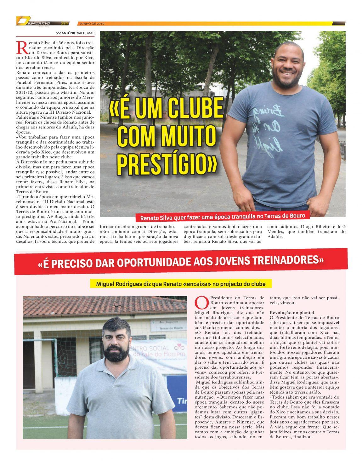 "Renato Silva e Miguel Rodrigues falam do ""novo"" Terras de Bouro"