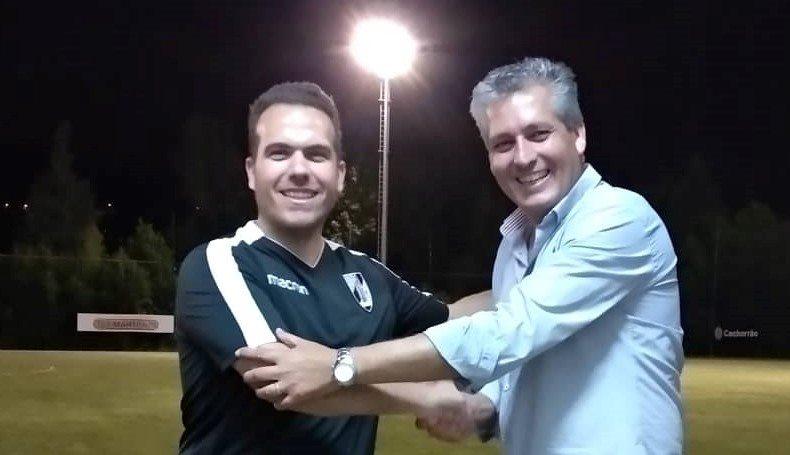 Pedro Gomes é o treinador da equipa feminina do Vitória SC