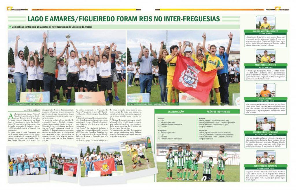 Inter-freguesias em Amares