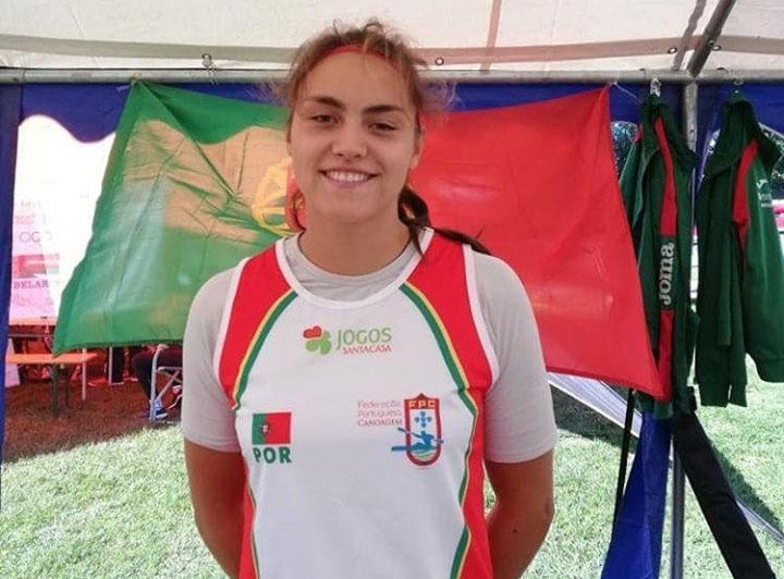 Gabi (CN Prado) ficou em 4º lugar nos Olympic Hopes