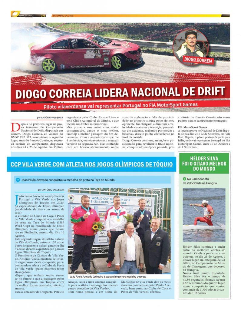 Diogo Correia quer revalidar o título