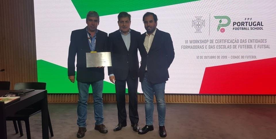 Vilaverdense recebeu certificado de Entidade Formadora