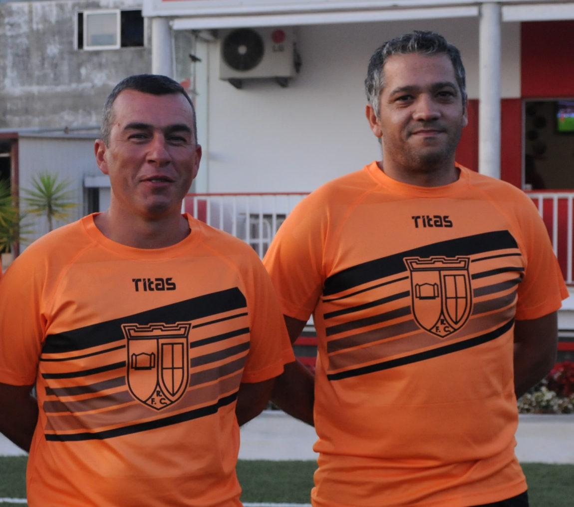 Raúl Gomes e Brás deixaram o comando técnico do Rendufe FC