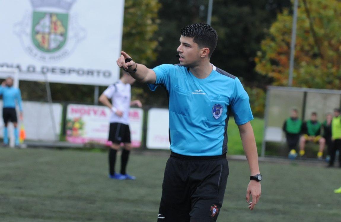 José Ribeiro foi o árbitro escolhido para apitar o Pevidém-Brito
