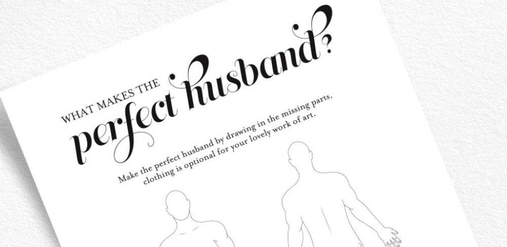 jeu du perfect husband evjf