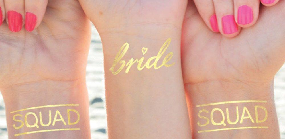 tatouage bride ou evjf
