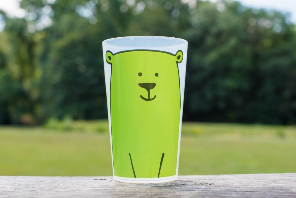 ecocup personnalise enfants ours