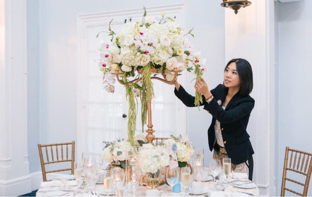 wedding planner fleurs