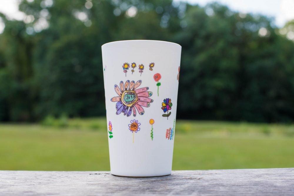 petit verre plastique reutilisable