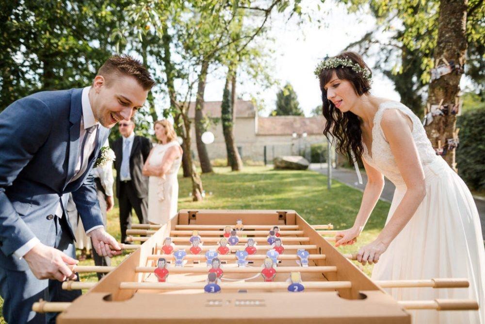 mariage babyfoot