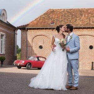 gobelet mariage arc en ciel