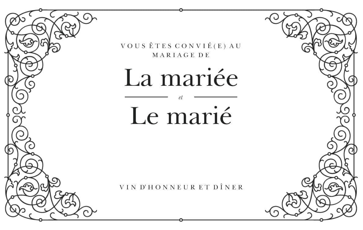 invitation blanche