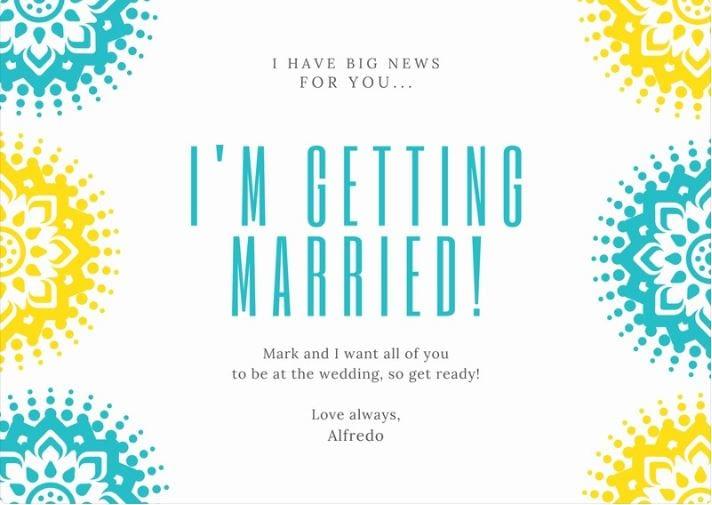 modele mariage faire-part