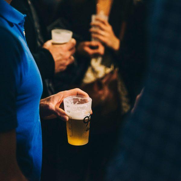 Ecocup avec bière