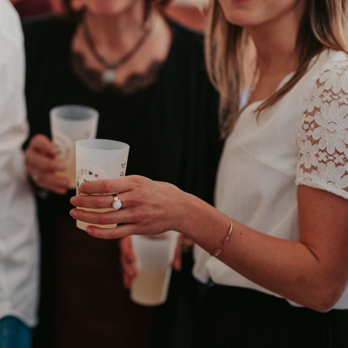 Gobelet personnalisé de baptême